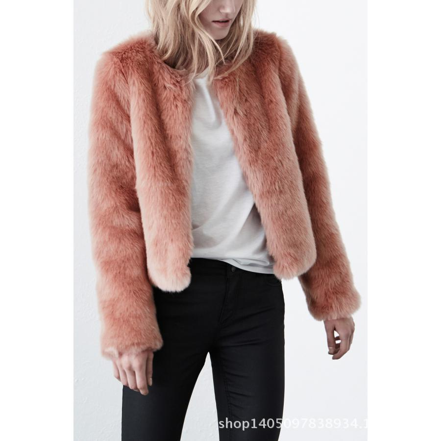 Ms. foreign trade in Europe and America a short section of high-end fashion factory wholesale Leather grass imitation rabbit fur
