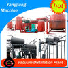 2 tons/day Base Oil from Waste Ship Engine Oil Filter Plant