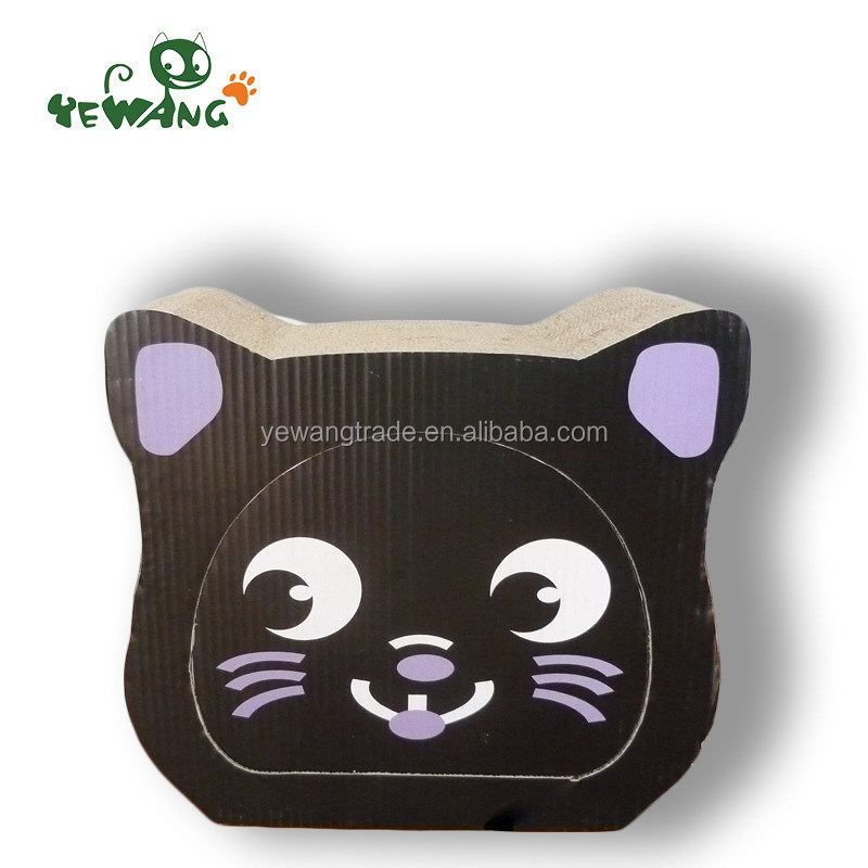 China supplier Best Selling cat shape cardboard cat scratcher <strong>pet</strong> toys 2016 alibaba