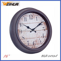Customized Dial Plastic antique reproduction clock