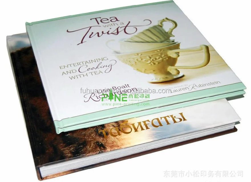 coffee table receipt book printing hard cover