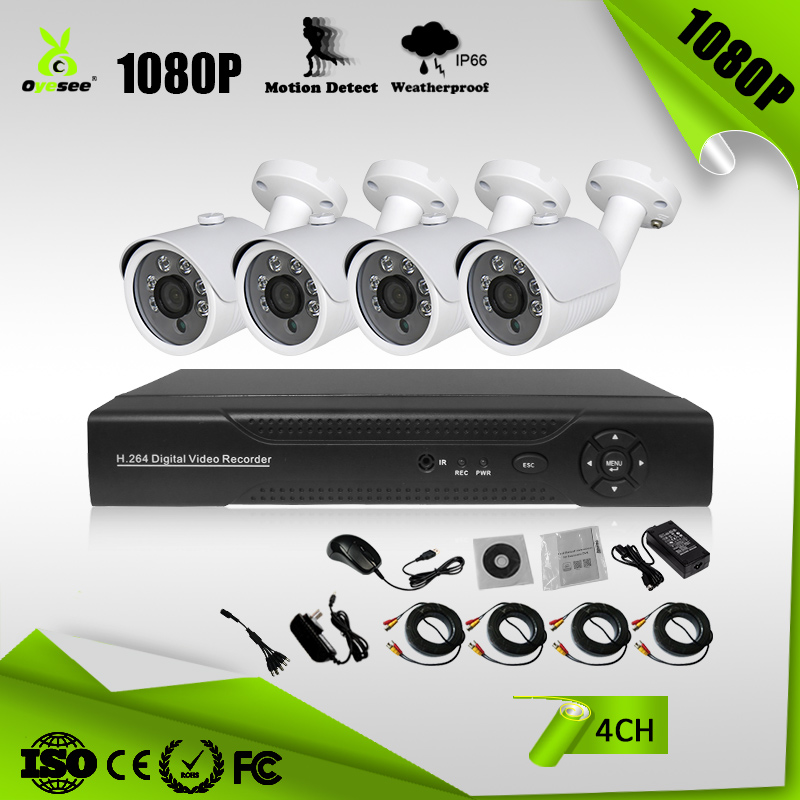 Xmeye App 4 Channels Ahd Tvi Cvi Dvr Kits 2mp With Xvi 1080p Security  Camera Cctv Camera Utc - Buy Cctv Camera,Security Camera,Xvi 1080p Product  on