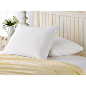 Microfiber Pillow Luxury Hotel Soft Material Standard Size Neck Pillow