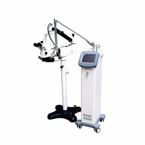 Medical fractional CO2 laser ENT surgical laser equipment with micromanipilator