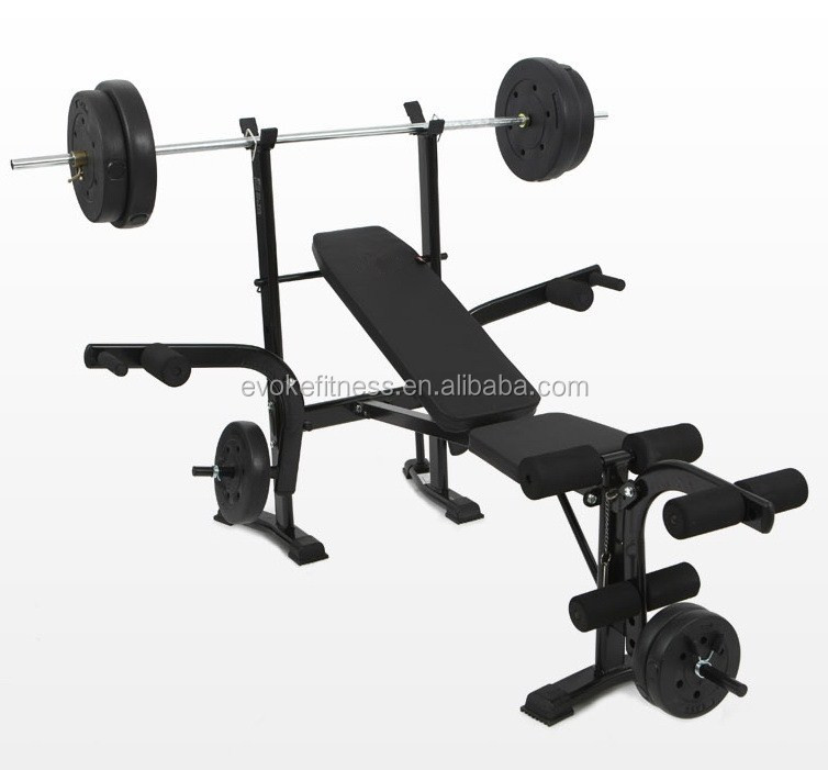 Multi Purpose Home Gym Equipment Weight Lifting Bench