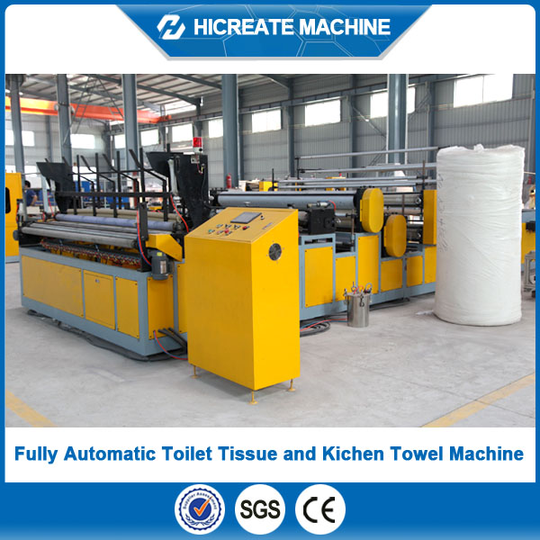 HC-TT China produce Full-Automatic toilet tissue machine