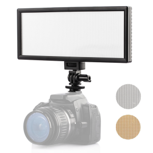 High quality ultra thin CRI95 5600K/3300K video studio camera panel LED light for photography