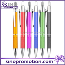 advertising metal ballpoint pen good quality providing free custom sponsors company logo Chinese top ball pen manufacturer