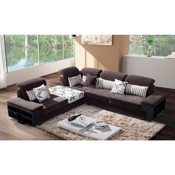 Latest Modern Executive Living Room Sectional Corner Sofa