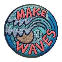 Clothing accessories merrow iron on patch set iron on woven embroidery patches for jeans and more