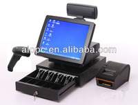 17 Inch All in One LED Touch Screen Wireless Cash Register