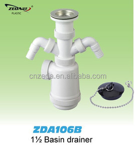 sink bottle trap/drainer with strainer and waste