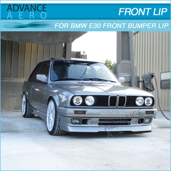 For Bmw E30 84 92 3 Series Pu Body Kits Lower Front Bumper Lip Spoiler View For Bmw E30 84 92 Lower Front Spoiler New Product Details From Chengdu