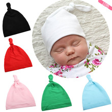 Baby Toddler Indian Style Stretchy Solid Beanie Turban Hat Hair Head Wrap Cap