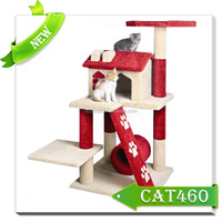 2015 New arrival fashion style wooden cat condo cat toys/cat tree /cat furniture