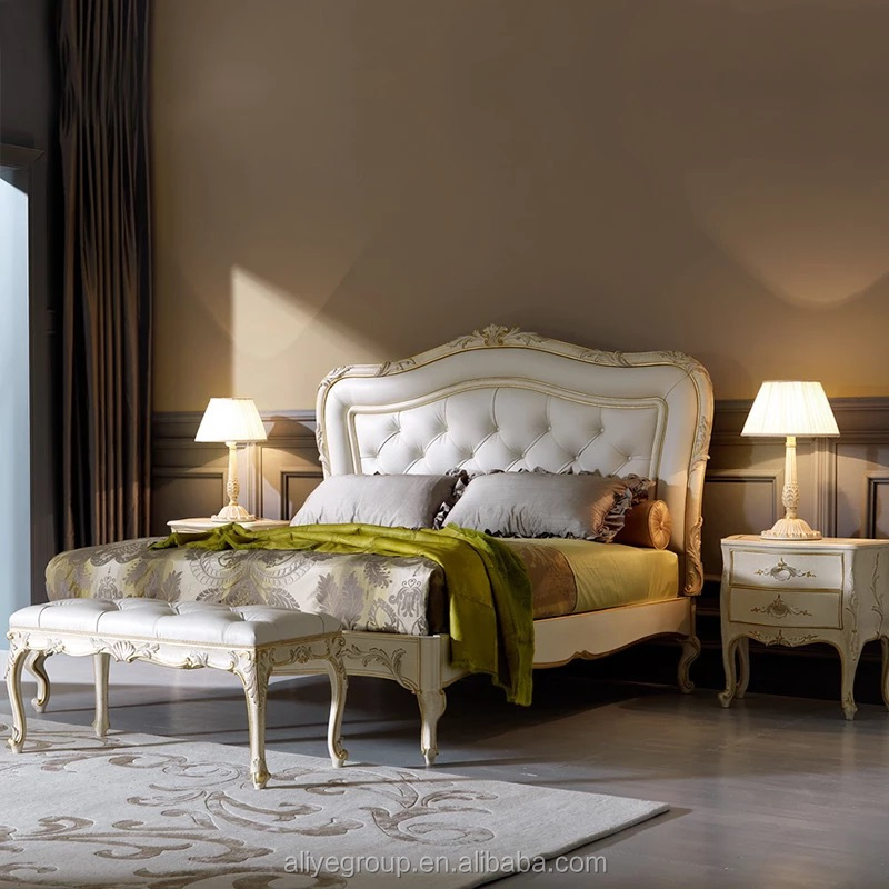 Luxury Bedroom Furniture King Size Clic European Sets For Roman Style Ta028
