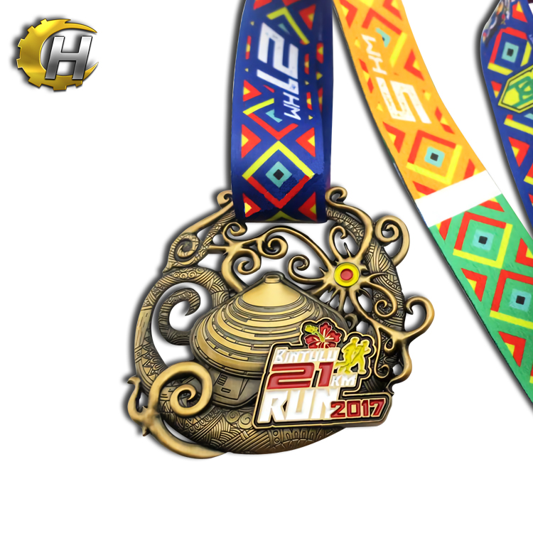 design your own medal custom gold silver bronze badminton metal commemorative medal