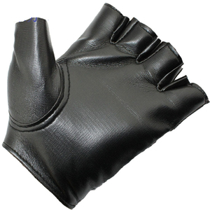 Factory custom half finger leather sports gloves women cheap disposable gloves