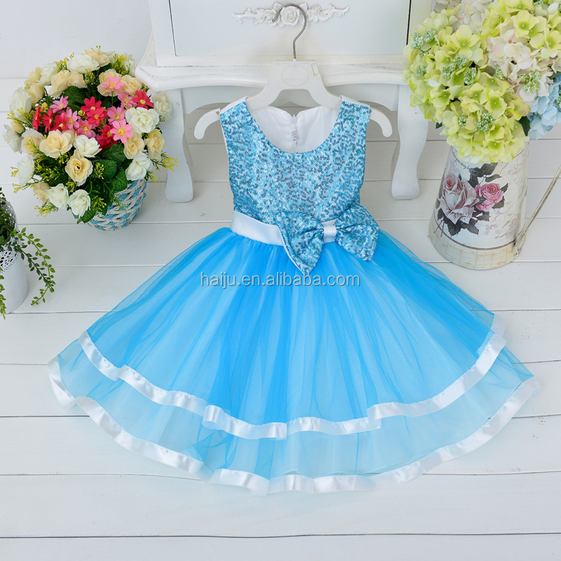 2016 hot sale little kids cloth champagne color with beautiful lace girl dress 8 year girl without dress