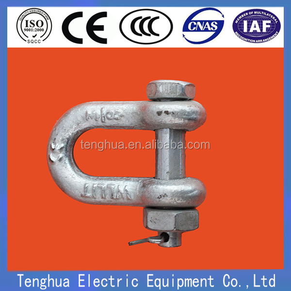 5/8'' Galvanized Anchor Shackle for Linking Fittings