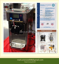 Unique selling point of macchina per gelato/frozen yogurt machine from Unisnow RB1116B
