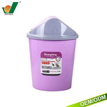 Pp Trash Can Ash Bin Garbage Can Office Plastic Mini Trash Can For Car