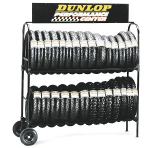 Warehouse Truck Tire Rack by Kinlife with 33 years in metal fibraction