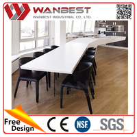 Acrylic Solid Surface Marble Dining Kitchen Table Sets Modern Tables