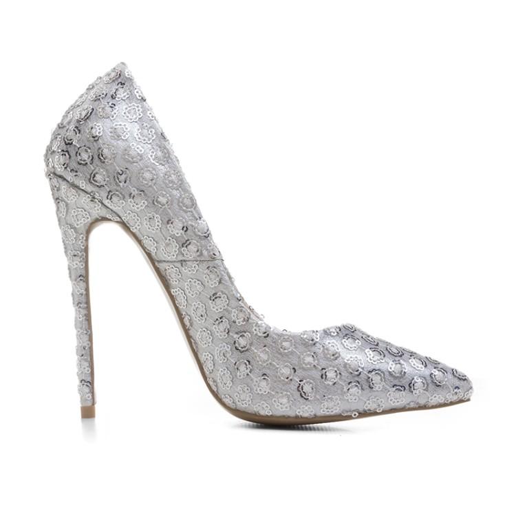 heels rhinestone women high shoes wedding pumps sexy Cheap ladies LXUNYI xUYnw6PqP
