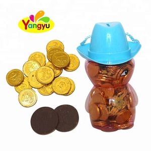 Delicious High Quality Golden Chocolate Coins bulk sell