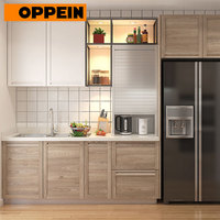 Karachi thermoformed doors wall mounted kitchen cabinets