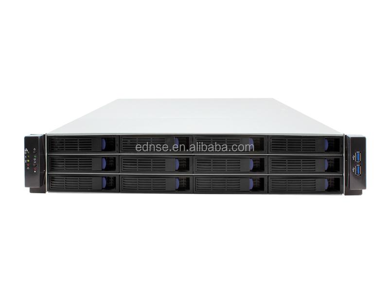 2u Rackmount 12bay Hot Swap Server Case