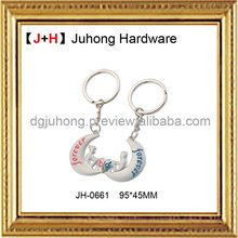 2012 fashion cheap customized metal keychain