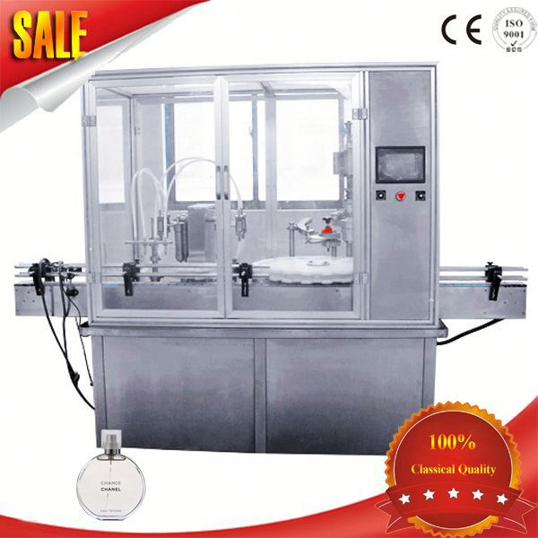 perfume capping machine bottle capper