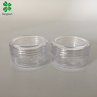 Eco friendly Plastic 10g/10ml Round Cosmetic Jar for Creams, Cosmetics Sample Dispenser Pots