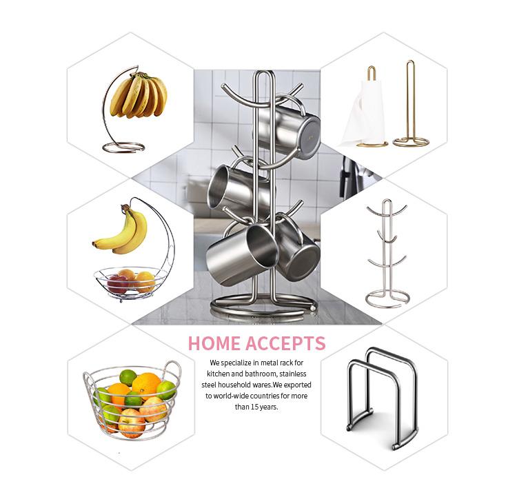 Basit tasarım mutfak metal köşe bulaşıklık raf