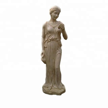 Charmant Large Resin Stone Female Garden Statues