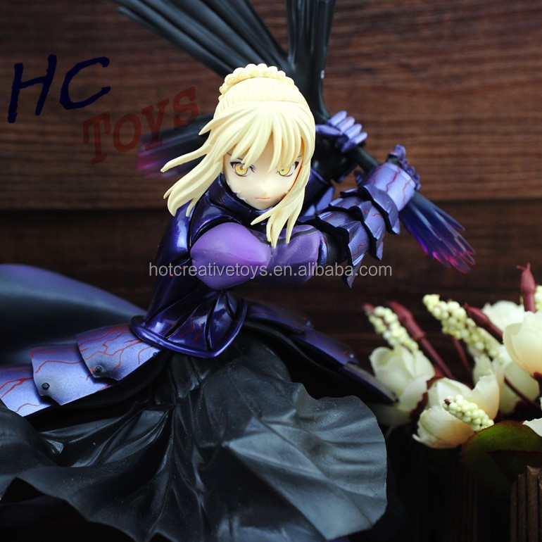 Anime Fate stay Night Saber Figma PVC Action Figure Collectible Model Toy