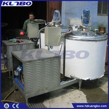 Horizontal Milk Directly Cooling Tank