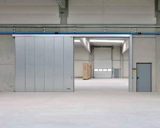 product-Zhongtai-Industrial gate warehouse sliding door-img