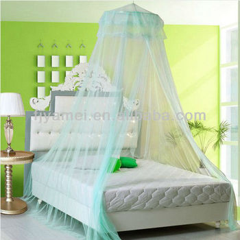 Light Green Round Hanging Mosquito Nets For Girl Bed /princess Net