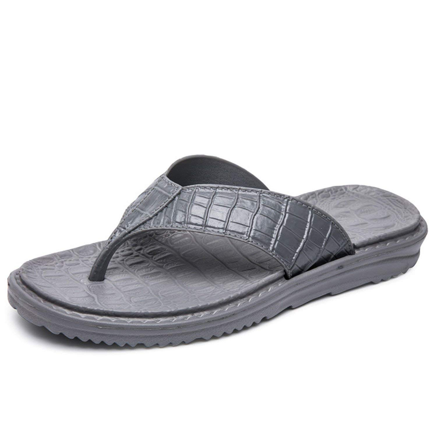 6b46fb772124e1 Get Quotations · Marvin Cook Soft Flip Flops Men Sandals Beach Shoes Eva  Summer Slippers Massage Shoes