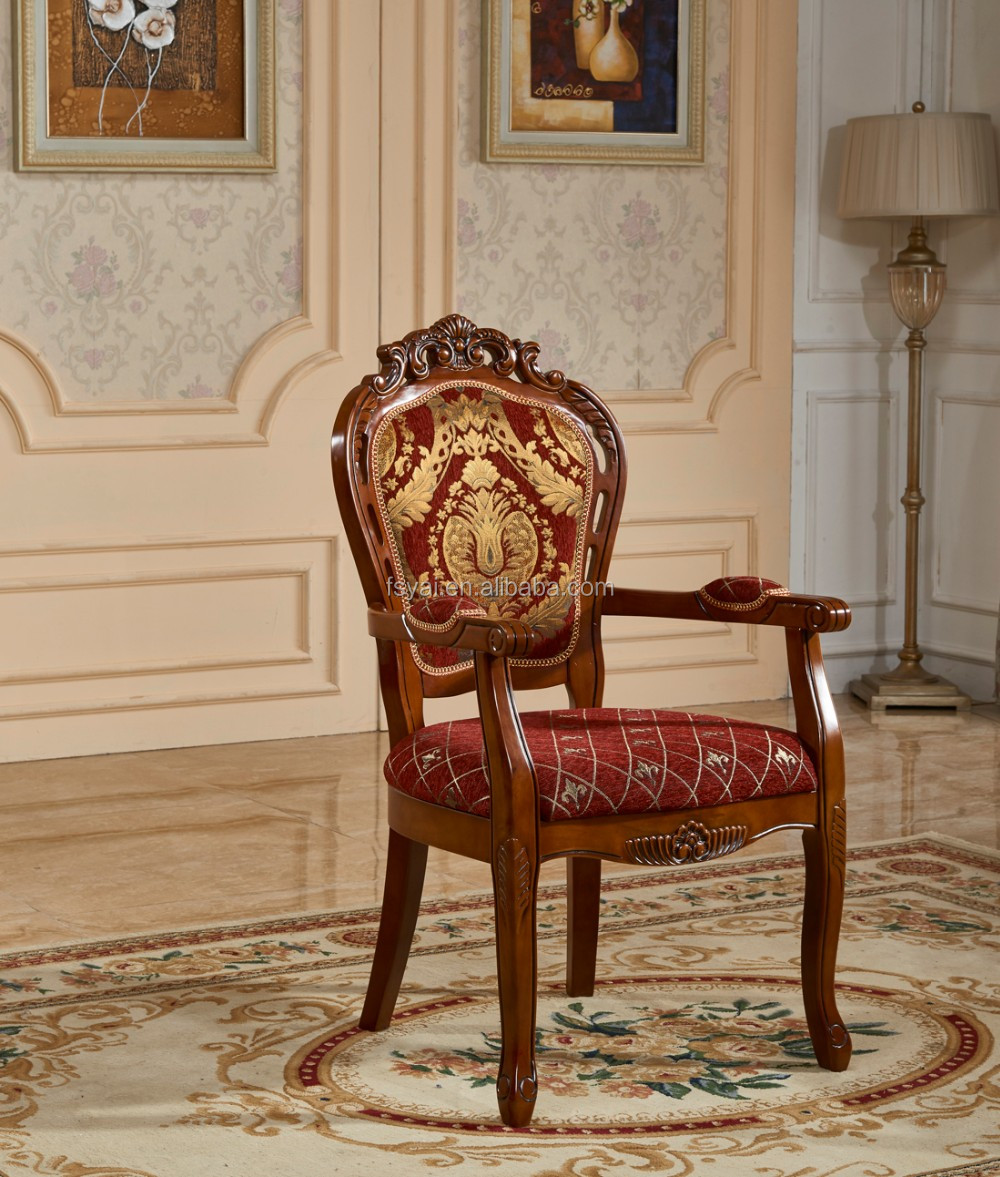 high back solid wood carved wing royal antique occasional chairs with arm,  hand shape antique - High Back Solid Wood Carved Wing Royal Antique Occasional Chairs