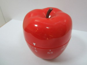 red pimiento shaped washing machine timer