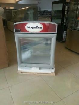 Refrigerator For Haagen Dazs Buy Glass Door Mini
