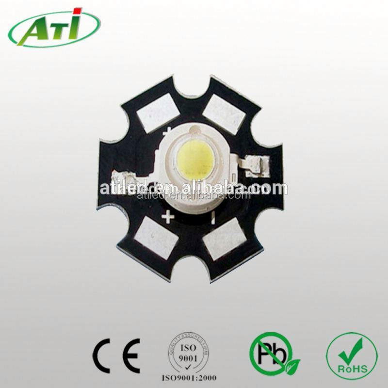 Factory supply 1w high power led 3mm light emitting diode led CE & Rohs approval