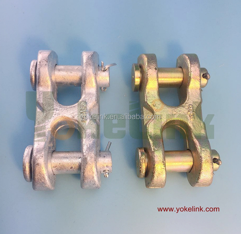 Made in China Forjado H twin clevis link S-249 Rigging hardware