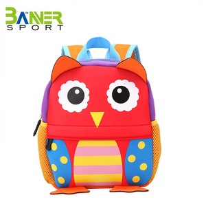 Customized comfortable school bag lovely kids backpack cartoon animal shoulders bag