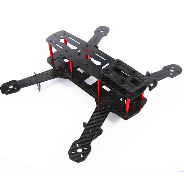 LHM149 Blackout QAV250 Carbon Fiber Mini 250 FPV Quadcopter Frame (Unassembled)