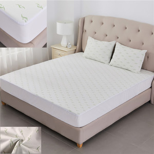 Cheap and High Quality Premium Hypoallergenic Waterproof Jacquard Bamboo Mattress Protector